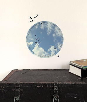 Personalised Father's Fabric wall sticker skylight