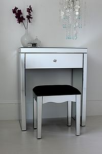 Mini Mirrored Dressing Table - furniture