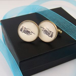 Left And Right Hand Cufflinks