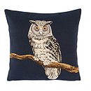 Solo Owl Cushion