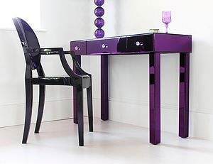 Purple Dressing Table - furniture