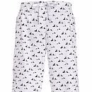 Rock and Roll Long Pyjama Pants in Pooch Print