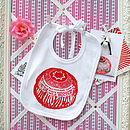 'Tunnocks Teacake' Scottish Baby Bib