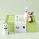Cat And Dog Tic Tac Toe Board Game