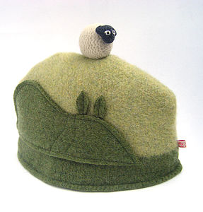 Wool Sheep Tea Cosy - kitchen linen
