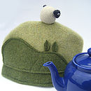 wool sheep tea cosy and pot