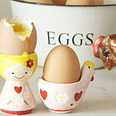 Pair Of Ingrid And Henrietta Egg Cups