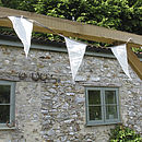 Vintage Style Sailcloth Bunting