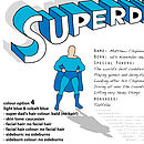 Personalised 'Superdad' Print