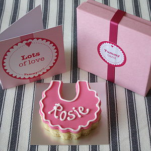 New Baby Cake Card - gifts for babies