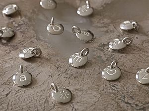 Loose Initial And Story Charms - women's jewellery