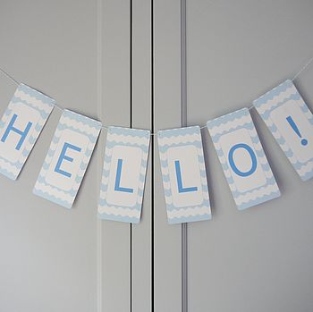 Personalised Chevron Bunting