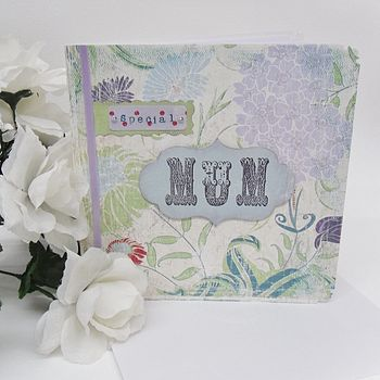 Handmade MUM card design 1