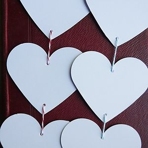 String Of Hearts - outdoor decorations