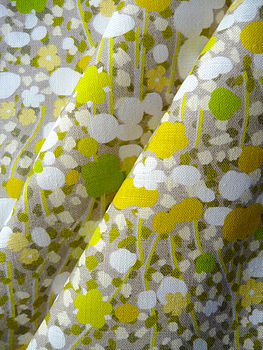 Meadow Fabric | Lime