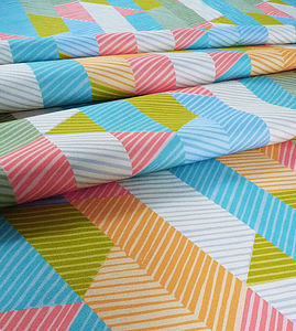 Allegro Fabric Multi - throws, blankets & fabric