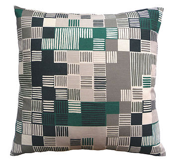 Minuet Cushion Green