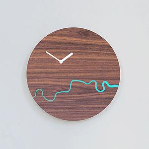 Wooden Thames Clock