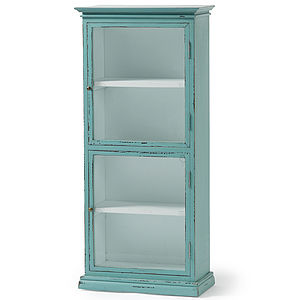 Nordal Portabello Glass Display Cabinet