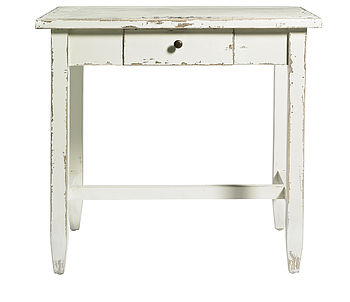 Vintage inspired Writing Table white, 27138