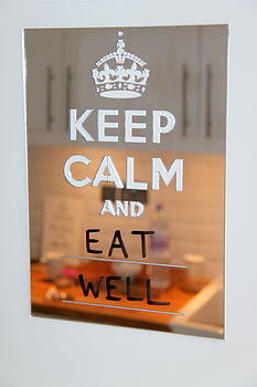 Keep Calm and Eat Well 1