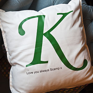 Personalised Letter Cushion - personalised cushions