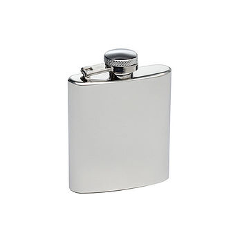 Free Engraved And Personalised Hip Flask