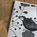 Blackbird Decorative Tile