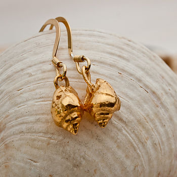Marazion Gold Earrings