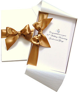 Bedazzled Large Anniversary Card