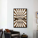 Customer Family Circus Print - Brown