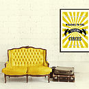 Customer Family Circus Print - Yellow _ 2