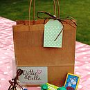 Wedding/Party Activities Bag For Boys