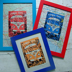 'Camper Love' Limited Edition Linoprint