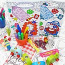 Colour In Party Bag Six Pack X1 P01