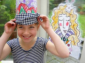 Colour-In 'Pin The Pendant on The Princess' - board games & puzzles