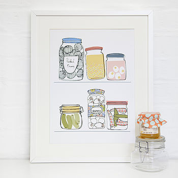Jars And Pickles Print