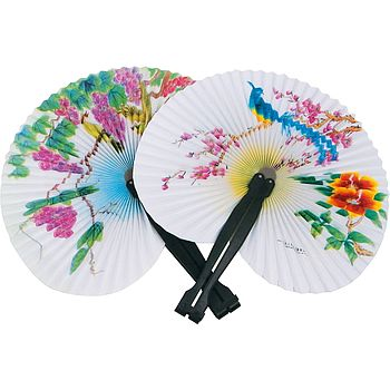 Child's Paper Fan Toy