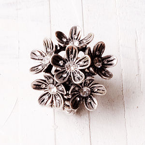 Dulce Flower Ring - One Size Fits All - rings