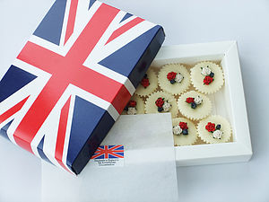 Union Jack Box Of Melts
