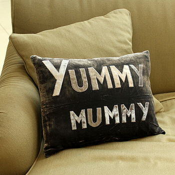 'Yummy Mummy' Cushion