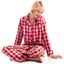 Brushed Cotton Pyjamas in Tartan