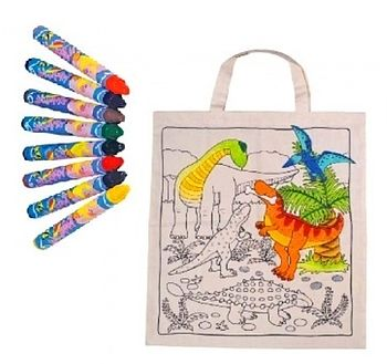 Decorate Your Own Dinosaur Bag Craft Kit