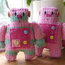 Little Robot Easy To Knit Kit