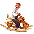 Chopper Wooden Rocking Bike