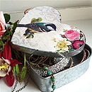 Vintage Heart Shaped Jewellery Box Inner