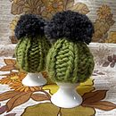 Olive Dorothy egg cosy