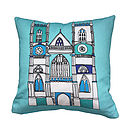 London Westminster Abbey Cushion