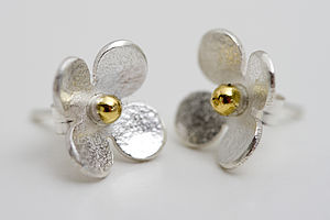 Flower Stud Earrings Of Porthleven - women's jewellery
