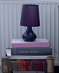 Glass Based Table Lamp - table lamps